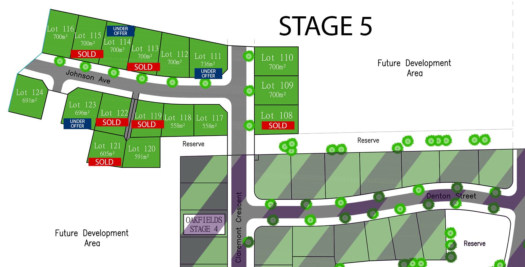 Oakfields Stage 5 Subdivision