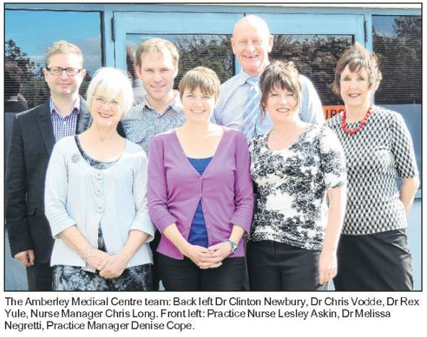 amberley medical centre team photo